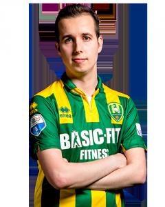 Mitchel Denkers FIFA E-sporter ADO Den Haag
