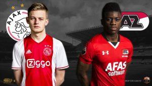 Dubbele speelronde E-divisie Ajax AZ Hagebeuk Ndunu